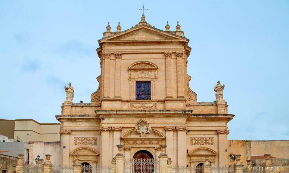 Facciata basilica Santa Maria Maggiore Ispica